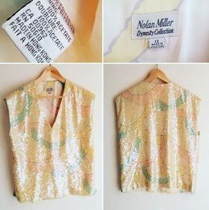 Vintage tank blouse